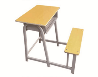 连体课桌凳