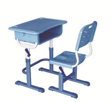 手摇式升降课桌椅