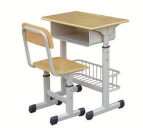 套管带篮课桌椅
