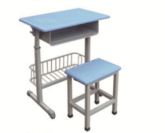 套管带篮课桌凳