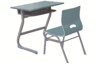 豪华式单人课桌椅