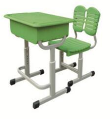 ABS塑料课桌椅(绿)
