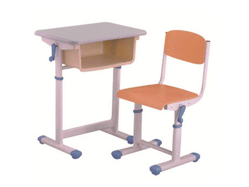 手摇式升降课桌椅-BS-KZ104