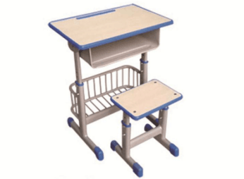 套管注塑封边带篮课桌凳