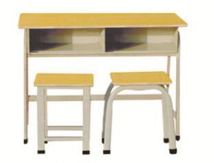 双人广式课桌凳