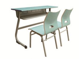豪华式双人课桌椅