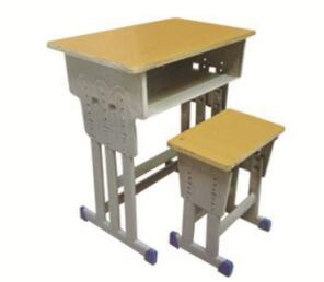 多柱升降课桌凳